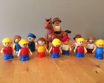 Vintage Playskool Figures