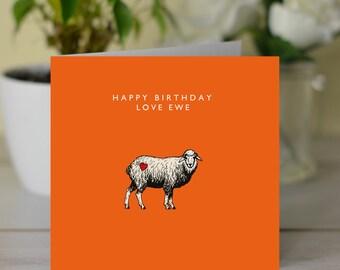 Happy Birthday Love Ewe