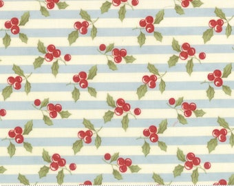 Moda Fabric - Snowfall by Minick & Simpson Ice 14831-14 - Quilt, Quilting, Clothing, Crafts., Christmas, Holiday