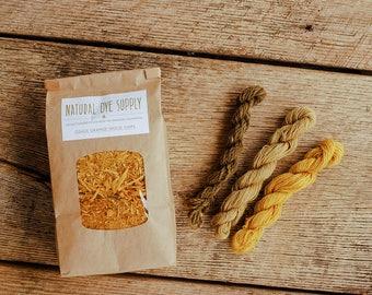 Osage Orange Wood Chips, Natural Dye Supply, Osage Dye, Botanical Dye, Recipe Included
