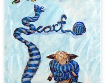 Children's Picture Book: Milton's Scarf by Jennifer Stables