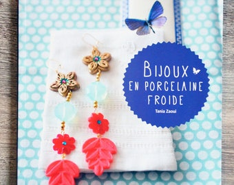 NEW - Book jewellery in cold porcelain