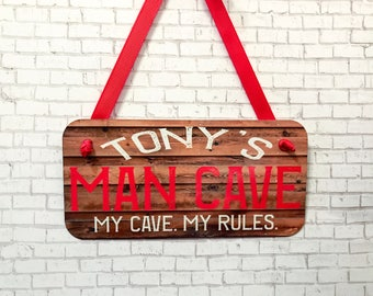 Personalized Man Cave Signs Etsy : Personalized man cave signs etsy