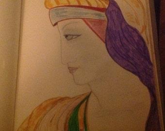 Renaissance Lady OOAK