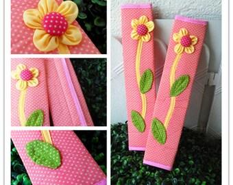 1pair - Sweet Flower Refrigerator Handle Cover