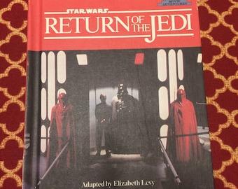 Vintage Star Wars Return of the Jedi Kid's Story Book 1983