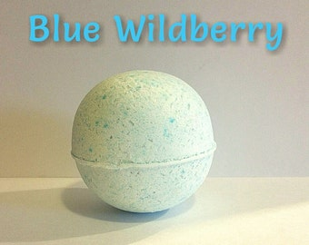Bath Bomb Blue Wildberry Bath Bomb Blue Bath Bomb
