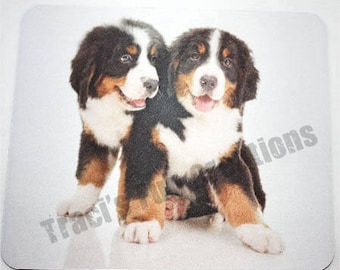 Mouse Pads,Mousepads, Home Office Decor, Desk Accessory Mousepad,Computer Mouse Pad Accessories,Bernese Mountain Dog,Bernese Puppies,Puppies