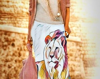 Blixen Skirt by Alex Tay