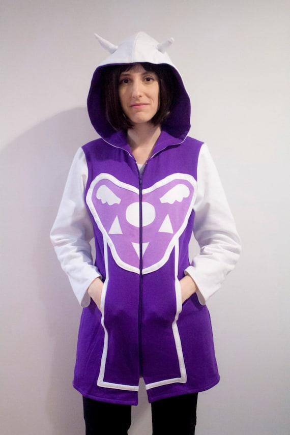 Undertale young Asriel inspired cosplay hoodie LrKPGK
