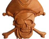 Pirate Wood Sign, Pirate ...