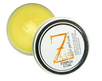 Handmade Solid Perfume - Pumpkin Icing by ZAJA Natural 1 oz