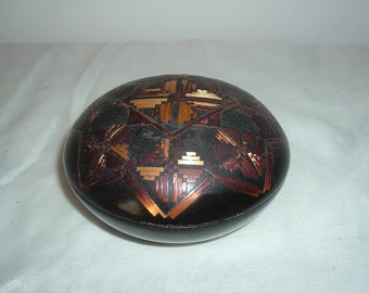 vintage hand crafted bowl