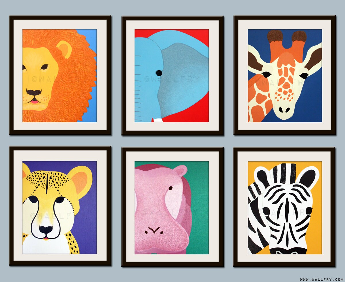 zoom - Kids Animal Prints