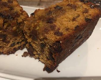 Homemade/boiledfruit cake /fruit cake/rich cake/made to order/gift/1lb load/birthday/traditional/freshly baked/tea and cake/treat