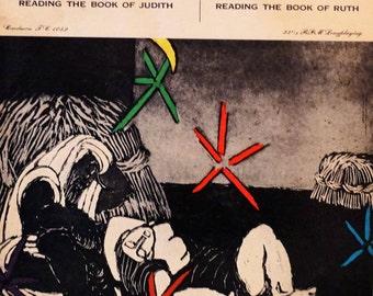 Reading The Book Of Judith - Judith Anderson, Claire Bloom 1956 (LP, Album, Vinyl Record ) Spoken Word, Religious