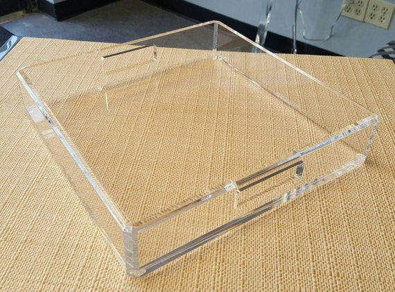 Acrylic Lucite Tray Acrylic Lucite Serving Tray Acrylic Gift