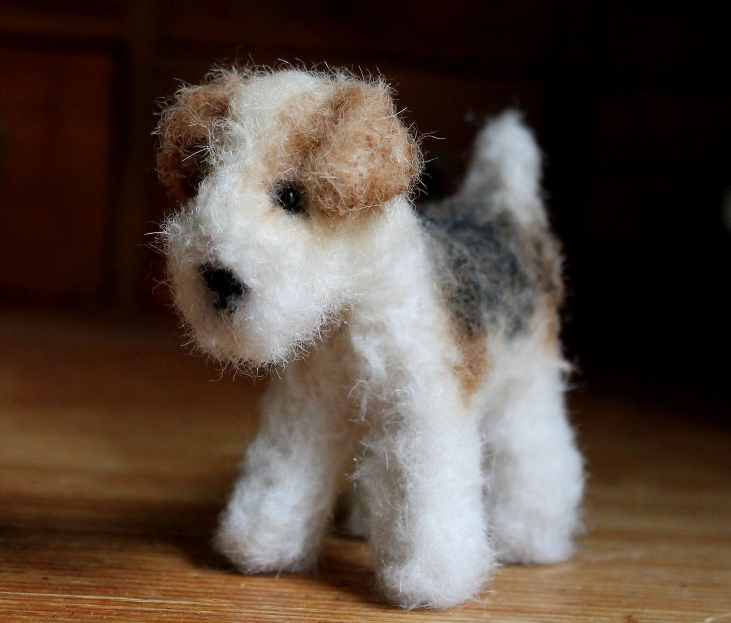 Wire Fox Terrier Welpe 7.5 cm PDF-Hund-Schnittmuster
