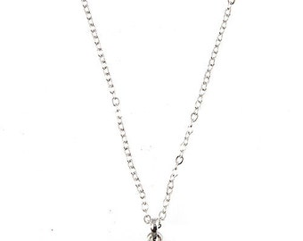 Silver Elephant Charm Necklace