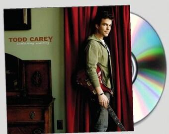 Signed Watching Waiting CD - Todd Carey