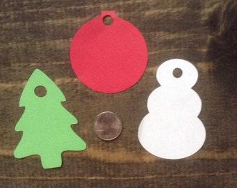 Blank Christmas Gift Tags - 12 ct