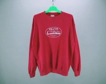 Maruman Sweatshirt Mens Size L 90s Maruman Pullover Maruman Vintage Sweats Made in USA