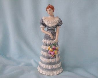 Goebel Lady Figurine 1984 German Federation of Women's Club/Series I of 4
