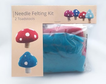 Make Your Own Toadstool Kit - makes 2.