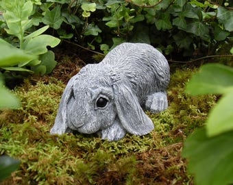 Rabbit, Rabbit Statue, Lop Eared Rabbit, Bunny Statue, Rabbit Memorial Statue, Hare Statue