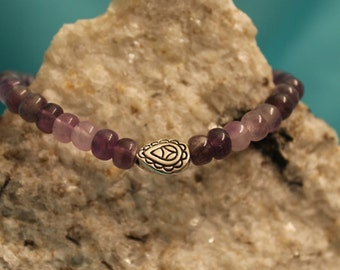Amethyst Butterfly Bracelet