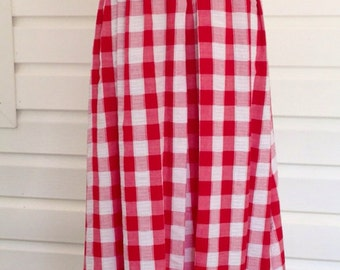 Vintage Seventies  Toni Todd Maxi Picnic Dress