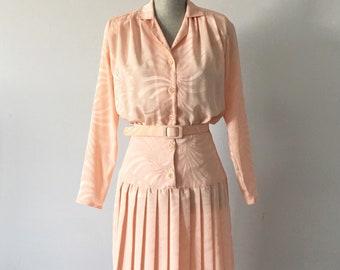 Vintage Pink Algo Dress