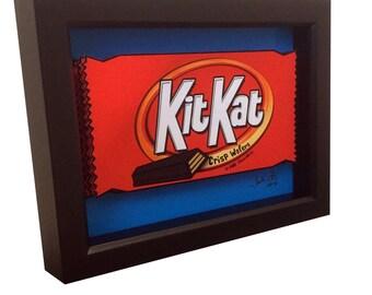 Kitkat Candy Art 3D Pop Art Candy Artwork Choclate Print