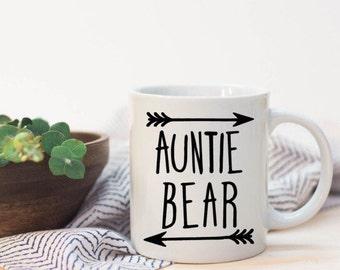 Auntie Bear| Mug | Gift | Coffee mug| Aunt