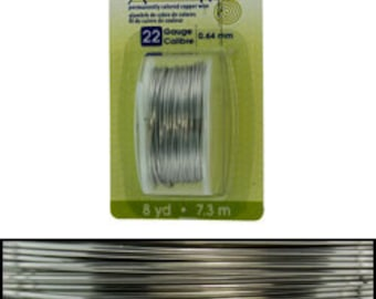 Artistic Wire Dispenser Pack Stainless Steel 22ga - 8 yards  (WR23822)