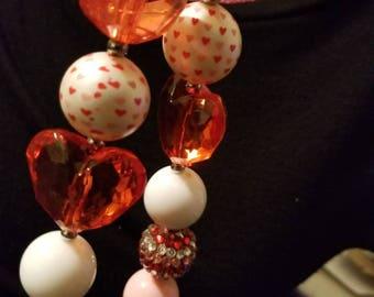 Valentine's Chunky Necklace