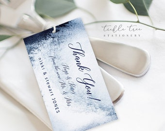 Favour Tags - Whistler Winds (Style 13760)