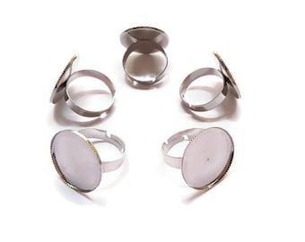 Support ring adjustable round circular x 5