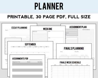 2017-18 School Planner