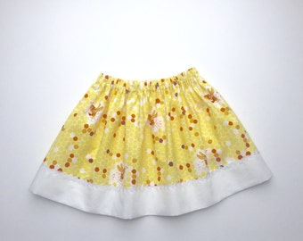 Girls Cotton Elasticated Waist Skirt 2-3 Years. Last One.