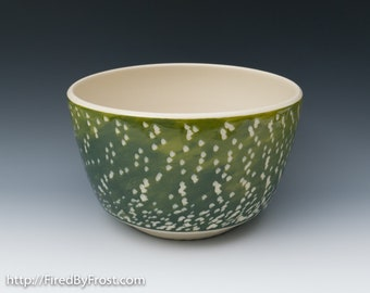Handmade Ceramic Pottery, Big Noodle Bowl - Ready to Ship - Perfect for Ramen, Serving Pasta, Big Salads, and more