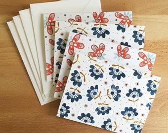 Notecard Set III - 4 cards