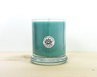 Ocean Breeze Candle || Hand Poured || Organic Soy Candle // 9 oz. Glass