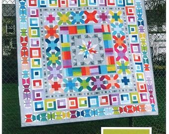 AVIATRIX MEDALLION - Quilt Pattern from Elizabeth Hartman EH 006 - Scrap Friendly!