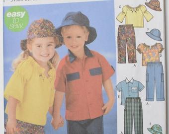 Simplicity 5537 Kids size 1/2-4 (unused)
