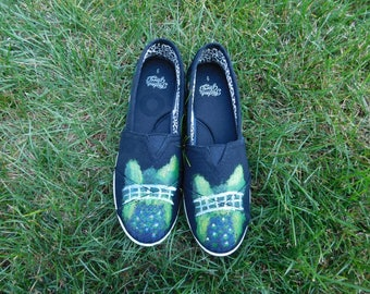 Art- Inspired: Monet's Garden Shoes