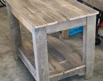 Pallet Bedside table/nightstand