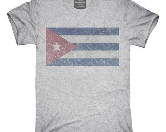 Retro Vintage Cuba Flag T-Shirt, Hoodie, Tank Top, Gifts