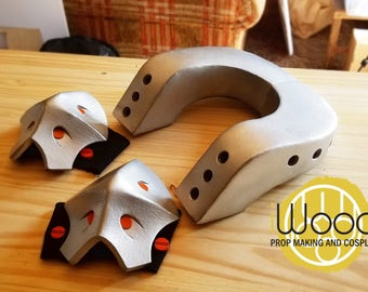 Boku no Hero Bakuguo Cosplay / Neck armor and knee pad EVA Foam pattern DIY