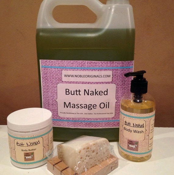 Butt naked - incense and body oil
